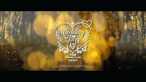 Free Wedding Intro Template Sony Vegas Play Preview Video