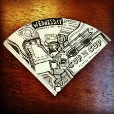 Ben Blakes Wonderful Coffee Filter Doodles