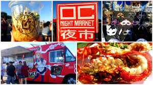 OC NIGHT MARKET / BEST OUTDOOR FOOD MARKET - YouTube