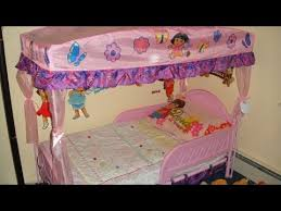 dora bedroom set dora toddler bed comforter set youtube