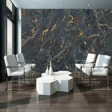 fototapete marmor goldenerz gold schwarz beton imitation