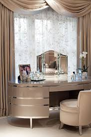 golden bedroom glamorous dressing table curtains