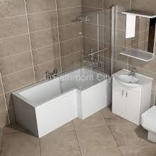 l shaped whirlpool shower bath right handed buy online at