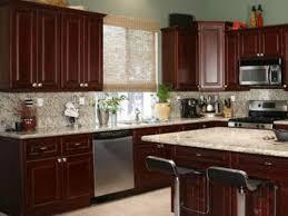 Impressive Kitchen Ideas With Cherry Cabinets Beautiful Interior
