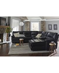 Decoro Leather Sectional Sofa by Leather Furniture Macy U0027s