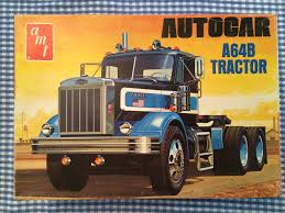 AMT Autocar Model Truck Kit. | Model Kits-box Art | Pinterest ...