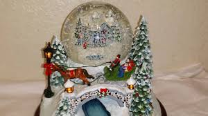 Thomas Kinkade Christmas Tree Village by Thomas Kinkade Jingle Bells Snowglobe Youtube