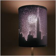 Lamp Shades Diy TOP 10 Creative DIY Lampshades Skyline Silhouette 14