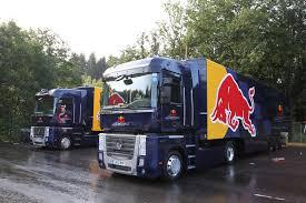 100 Redbull Truck Renault RedBull Transporter Hauler F1 Race Transporters