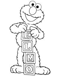 Elmo Coloring Page Best Printable Pages For Your With Baby