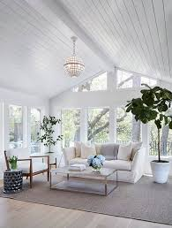 Paint Colors Living Room Vaulted Ceiling by Best 25 Shiplap Ceiling Ideas On Pinterest Ship Lap Kitchen