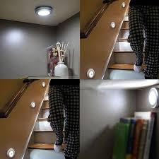4 5v stair light wireless motion detector sensor light led stick