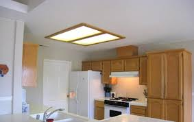 bright fluorescent kitchen light fixtures lighting fixtures