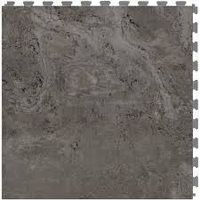 shop perfection floor tile travertine 6 20 in x 20 in gray
