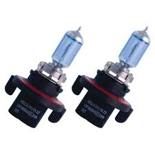 mustang headlight bulb h13 xenon blue halogen 100 80w pair 2005 2010
