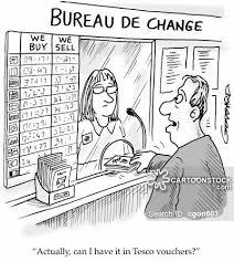 exchange bureau de change exchange rate and pictures from cartoonstock