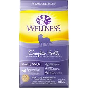 Wellness Complete Health Healthy Weight Dry Dog Food - Chicken & Peas