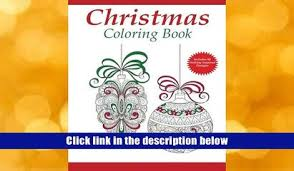 Download PDF Christmas Coloring Book A Holiday For Adults Adult Books