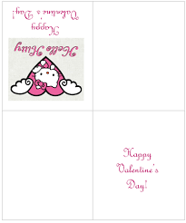 You Might Also Like HELLO KITTY VALENTINE PRINTABLE CARDS