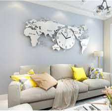baby kreative wanduhr groß wohnzimmer schlafzimmer