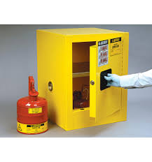 Flammable Safety Cabinet 30 Gallon by Justrite Sure Grip Ex Countertop Flammable Safety Cabinet