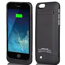 iphone 6 6S 7 Black 3500mAh External Battery 4 7 Case Charger