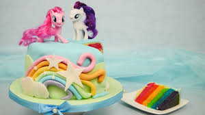 My Little Pony cake I Rainbow cake for MY LITTLE PONY the movie