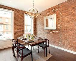 Industrial Dining Room Ideas Example Of An Urban Dark Wood Floor Design In New