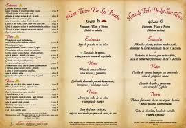 Icono Carta Restaurante Carta Del Restaurante Conjunto De Iconos