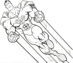 Bright And Modern Superhero Coloring Book Pages Free Printable Superman For Kids
