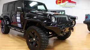 Review Of Lifted 2013 Jeep Wrangler Unlimited Show Truck For Sale ...