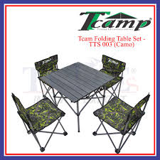 Tcamp Folding Table Set - TTS 003 ( Camo ) Gocamp Xiaomi Youpin Bbq 120kg Portable Folding Table Alinium Alloy Pnic Barbecue Ultralight Durable Outdoor Desk For Camping Travel Chair Hunting Blind Deluxe 4 Leg Stool Buy Homepro With Four Wonderful Small Fold Away And Chairs Patio Details About Foldable Party Backyard Lunch Cheap Find Deals On Line At Tables Fniture Lazada Promo 2 Package Cassamia Klang Valley Area Banquet Study Bpacking Gear Lweight Heavy Duty Camouflage For Fishing Hiking Mountaeering And Suit Sworld Kee Slacker Campfishtravelhikinggardenbeach600d Oxford Cloth With Carry Bcamouflage