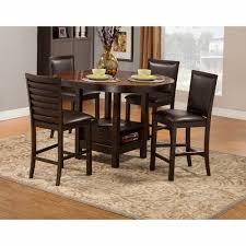 Alpine Furniture - Davenport 5-Piece Pub Table Set