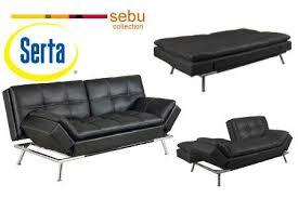 Serta Dream Convertible Sofa by Serta Matrix Convertible Sofa By Lifestyle Solutions