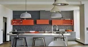 des id馥s pour la cuisine quelle couleur mettre avec une cuisine grise