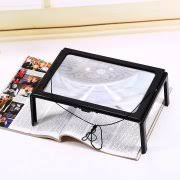 Lighted Full Page Magnifier Lamp by Magnifiers