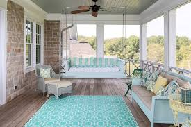 Louisville Painted Wicker Furniture With Rattan Outdoor Lounge Sets Porch Beach Style And Area Rug Coastal