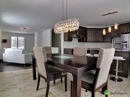 cuisine blanche ouverte sur salon decoration cuisine salon aire ouverte