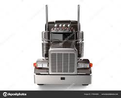 Brown Wheeler Truck Trailer Front View — Stock Photo © Trimitrius ...
