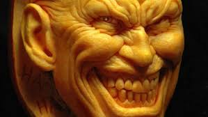 Scariest Pumpkin Carving Ideas by Decoration Ideas Stunning Image Of Scary Decorative Face Batman