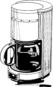 Clipart Coffee Maker Image Machine Png