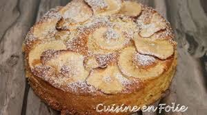 recette de cuisine en gâteau au mascarpone et à la pomme recette par cuisine en folie