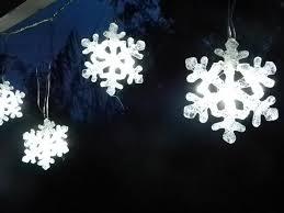 Christmas Snowflake Christmas Lights O Led Strings