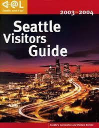 seattle visitors bureau brochure cover stock photo miscellaneous stock photography