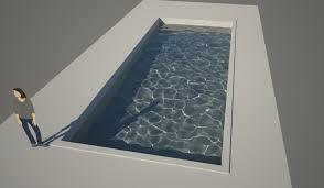 modelling a pool in sketchup indigo renderer