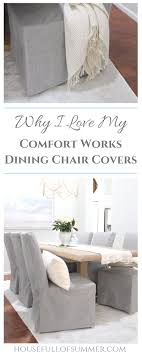 Why I Love My Comfort Works Dining Chair Covers — House Full Of ... Summer Slipcover For Wingback Chair Ottoman The Maker Sideli 2pc Seat Cushion Soft Pad Breathable Officehome Marlo Director Cover Bed Bath N Table Why I Love My Comfort Works Ding Covers House Full Of Wayfair Basics Patio Reviews Sashes Relaxedfit Cybex Sirona Q Isize Natural Baby Shower Snuggie Covers Leather Chair During Summer Frugalfish Tableclothschair Ssashesrunnsoverlaystabletopdecor