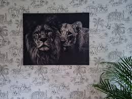 löwen bilder auf leinwand poster bestellen ohmyprints