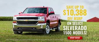 New Chevrolet Specials At Athens Chevy In Athens, GA