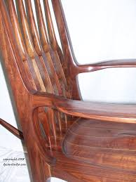 sam maloof rocking chair class a moving sculpture a sam maloof inspired rocker a rocking chair
