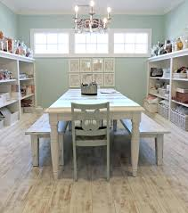 Craft Room Tables And Storage